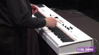 Studiologic Numa Stage Digital Piano with Hammer Action Demo | Full Compass