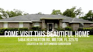5464 Heatherton, Milton FL