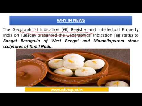 Geographical Indication (GI) Tag explained for RBI and NABARD 2018