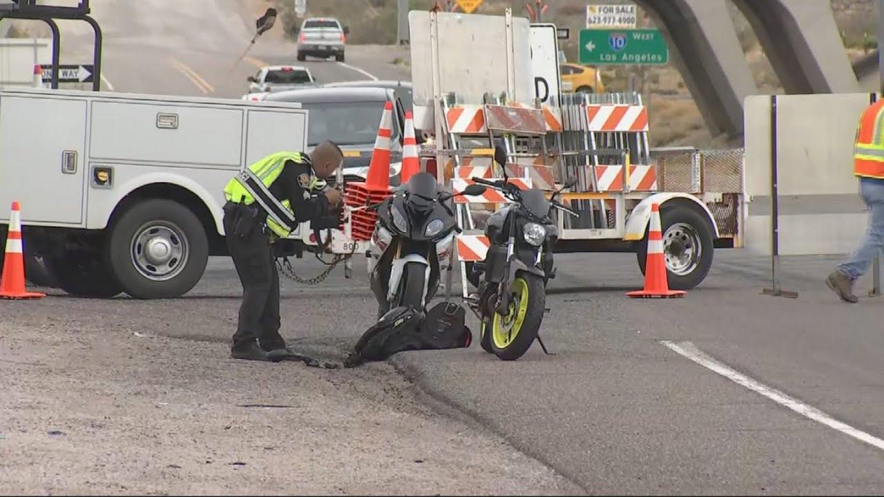1 dead after motorcycle crash in Buckeye