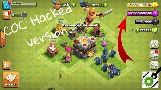 How to download clash of clans hacked version in (HINDI)