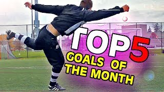 TOP 5 GOALS OF THE MONTH #11 | 2013