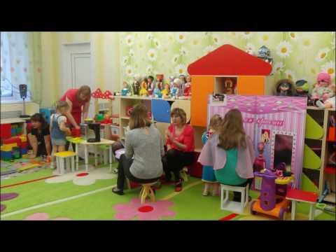 Сюжетно-ролевая игра с родителями Один день из жизни воспитанников  2-й младшей группы