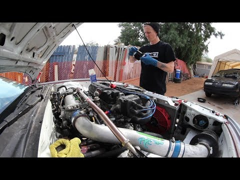 Routine Maintenance On The Integra- Little Car Meet