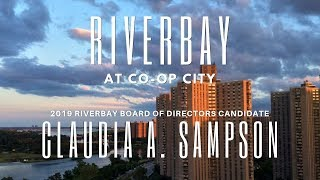 Claudia A. Sampson - Riverbay Board of Directors Candidate 2019