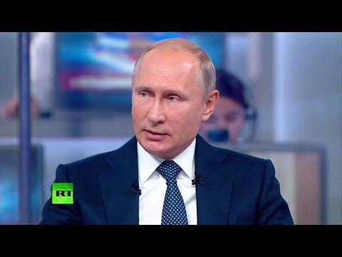 «Всегда об этом думаю»: Путин ответил на вопрос о своём преемнике