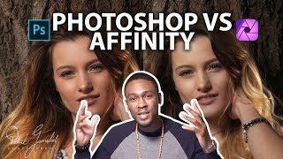 Photoshop CC Desktop Vs Affinity Photo IPad