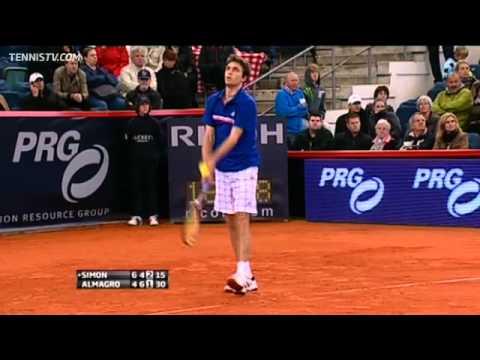Gilles Simon Edges Almagro In Hamburg Final Highlights