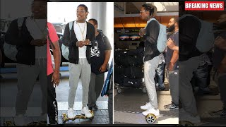 Wiz Khalifa Gets Arrested At LAX For Riding A Hoverboard