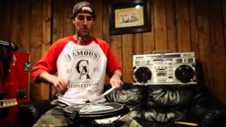 Travis Barker drumlesson warm up