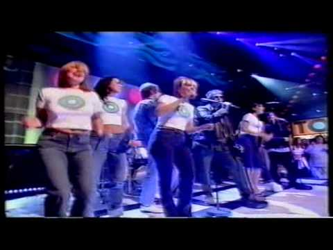 Spice Girls & England United How Does It Feel To Be On Top Of The World Top Of The Pops