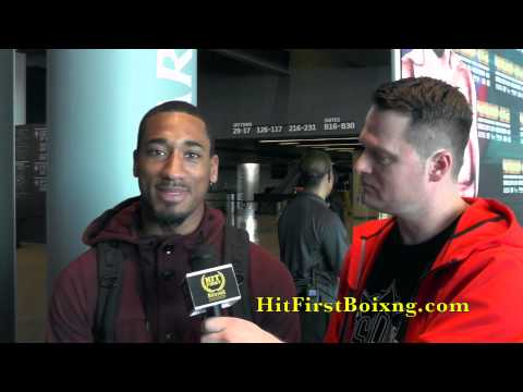 Demetrius Andrade Interview at Presser For His 6.14 Fight