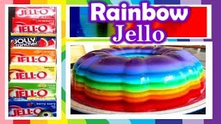 How Make Rainbow Jello 2cupsofdelight