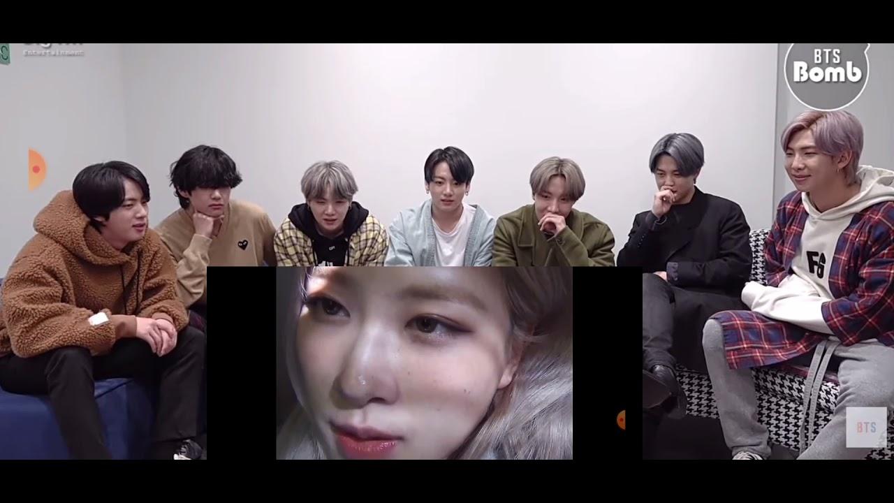 Download BTS REACTION ROSÉ - ' GONE ' M/V  MAKING FILM