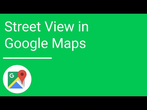 Street View in the new Google Maps for mobile