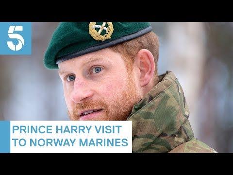 Prince Harry spends Valentine's Day in Meghan Markle 'shrine' | 5 News
