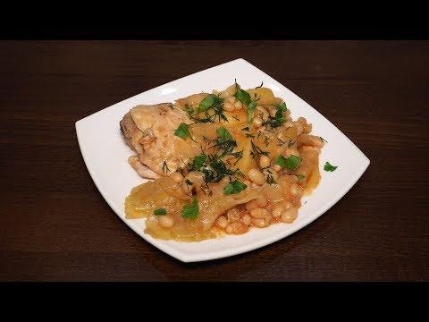 Овощное рагу с фасолью рецепт в мультиварке