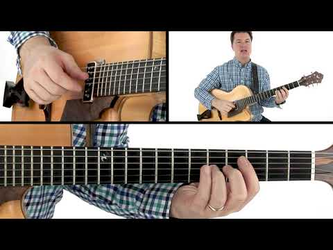 Fingerstyle Jazz Guitar Lesson - Guide Tone Voice Leading - Sean McGowan