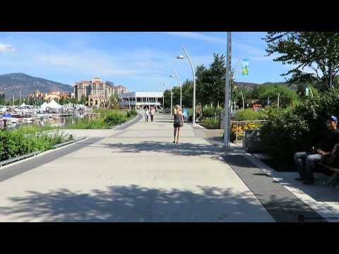 Exploring Downtown Kelowna in the Summertime