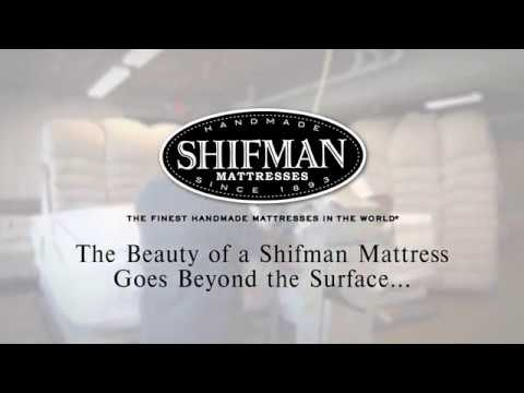 The Beauty of a Shifman Mattress Goes Beneath the Surface