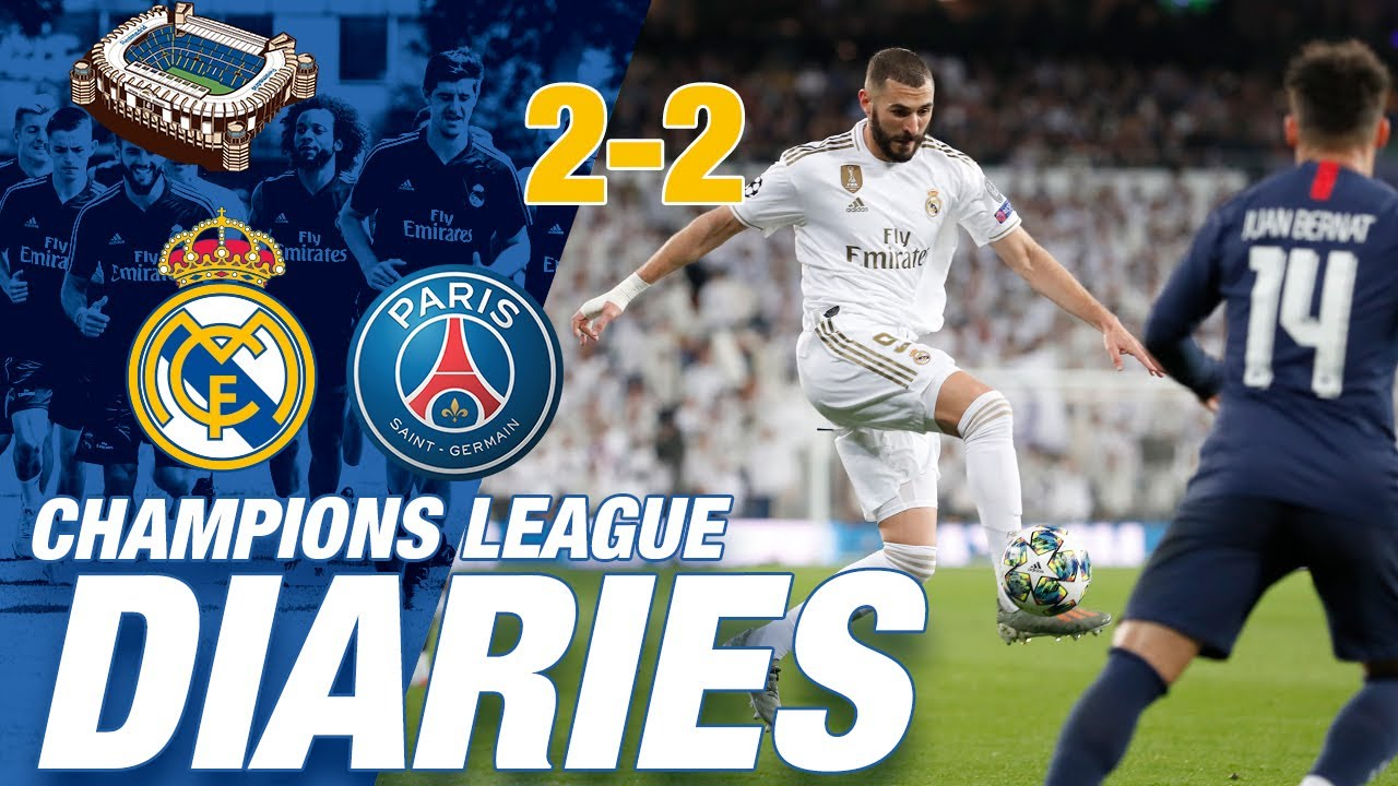 Download Champions League diaries | Real Madrid 2-2 PSG (Day Two)