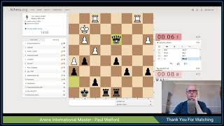 Lichess.org hourly bullet arena - Paulw7-uk live chess stream