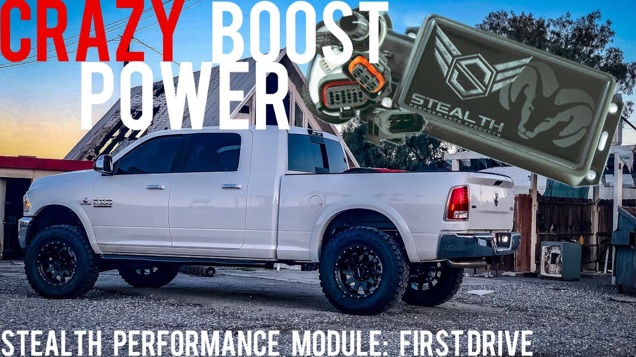 RESTORING LOST POWER AFTER PUTTING 37s ON MY CUMMINS BUILD - STEALTH  PROGRAMMER FIRST DRIVE REVIEW