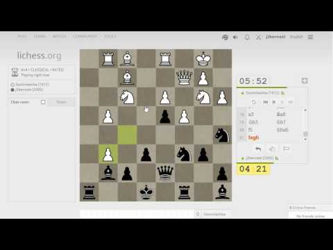 Blitz chess with live commentary #693: Bird's opening