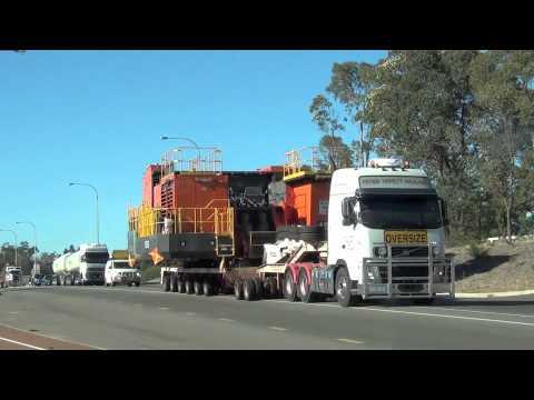 Australian Heavy Haulage 10th March 2012