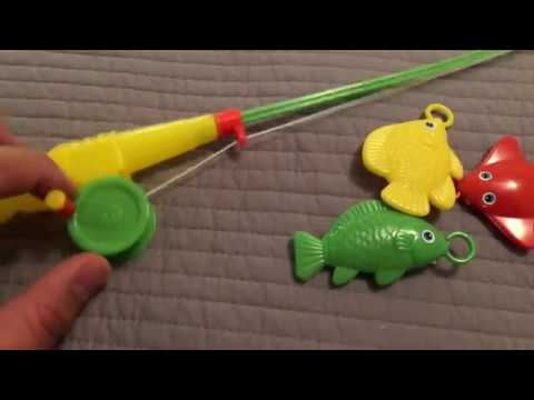 Toy Fishing Pole Challenge