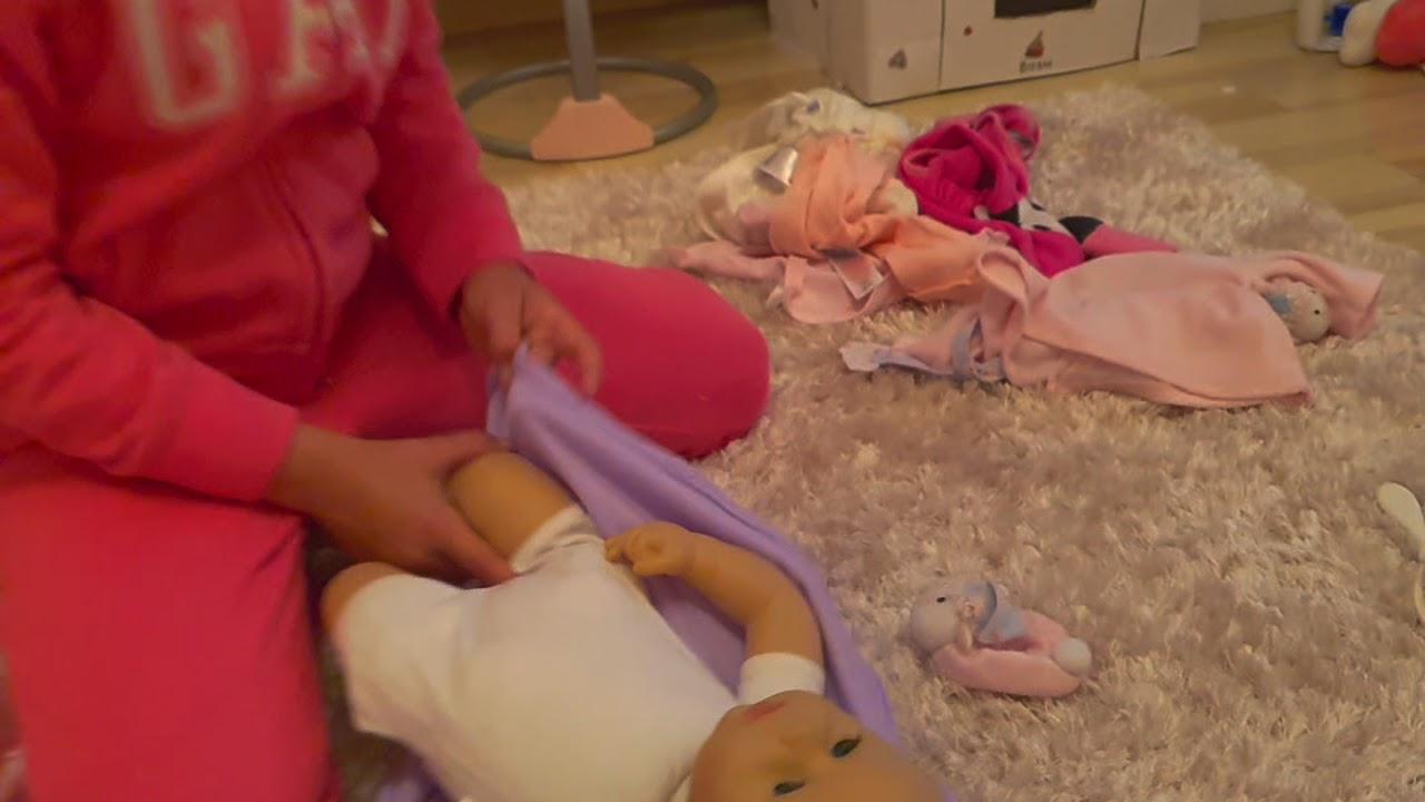 Baby Annabell bath time,fürdetés - YouTube