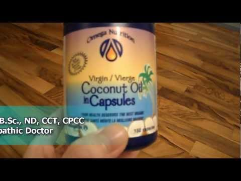A review of Omega Nutrition certified organic virgin coconut oil capsules Tutorial