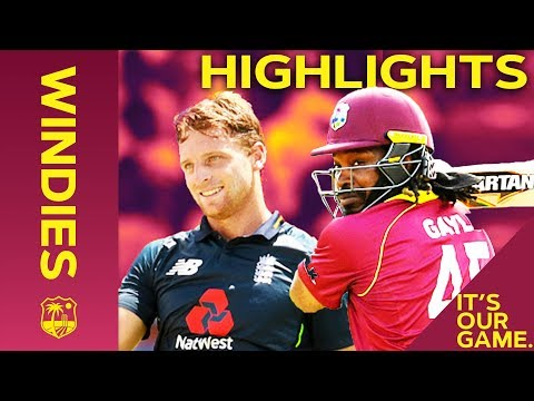 Buttler & Gayle Go Huge In Record Breaking Match | Windies vs England 4th ODI 2019 - Highlights