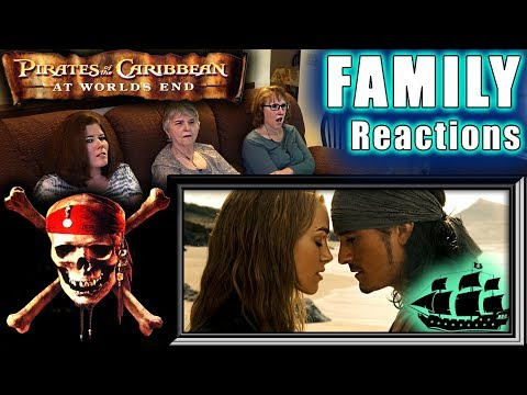 Pirates of the Caribbean 3  At Worlds End  FAMILY Reactions  Fair Use