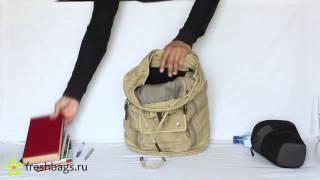 Рюкзак-майка из брезента nosimoe 94667 маленький рюкзак для девочки подростка купить украина