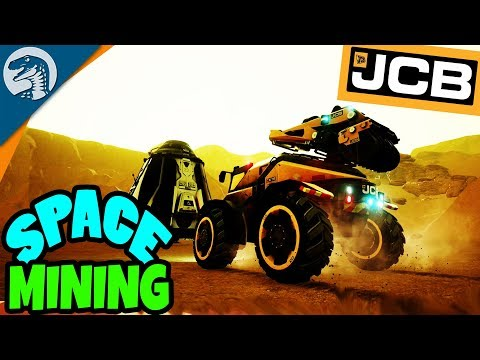 BUILDING HUGE SPACE BASE & MINING CONSTRUCTION | JCB Pioneer: Mars Gameplay