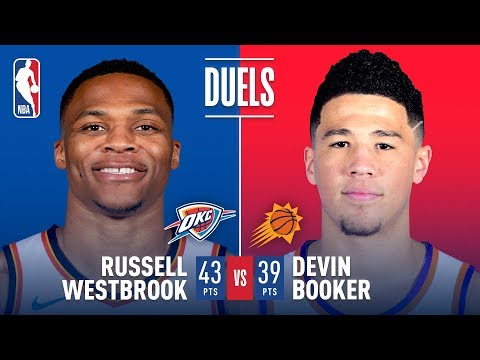 Russell Westbrook and Devin Booker Duel in Phoenix! | March 2, 2018