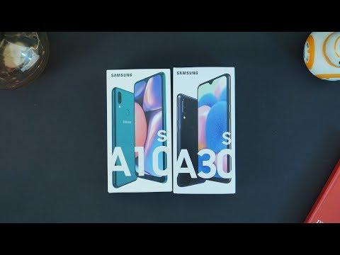 Unboxing Samsung A30s Dan A10s   3Jutaan NFC !