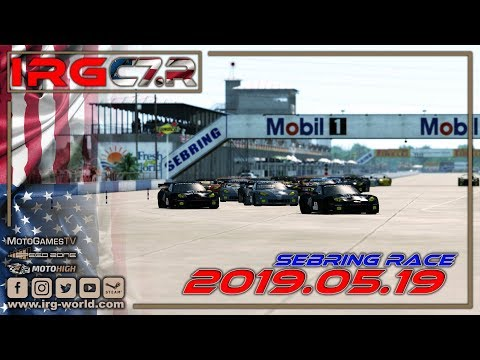 <span style='color:#d00000 !important;font-weight:900;'>MotoGamesTV</span> - <small style='font-size:10px;'>rFactor 2 – IRG Corvette Cup of America  – ROUND 5 - Sebring - LIVESTREAM - Na żywo </small>