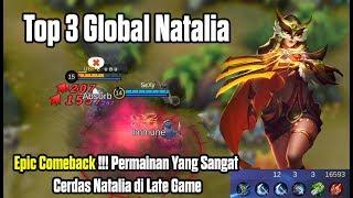 Epic Comeback !!! Permainan Sangat Cerdas Dari Top Global Natalia di Akhir Pertandingan