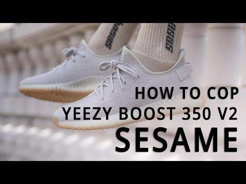 3b0458fa1bab86 adidas YEEZY BOOST 350 V2  Sesame
