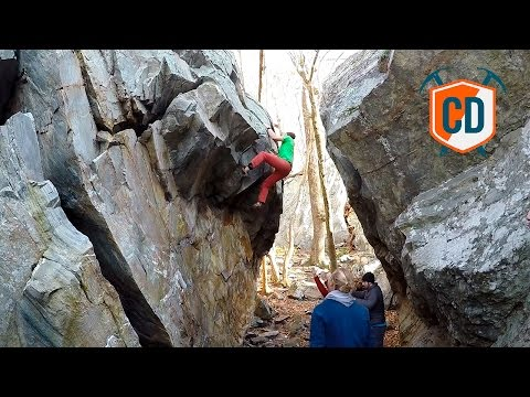 8A+ Boulder And A Scary Looking Highball Sick Send | Climbing Daily Ep.916