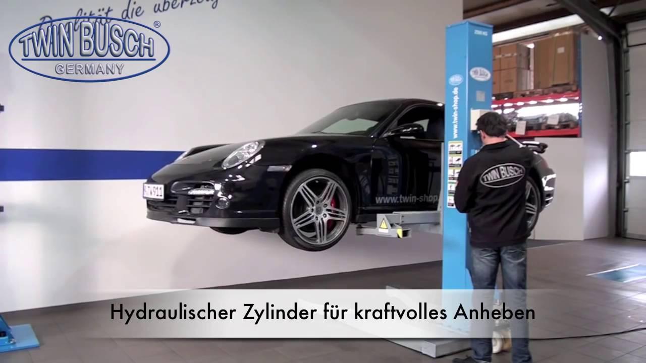 Nietypowy Okaz Podnośnik samochodowy jednokolumnowy Twin Busch Germany TW 125 M CS05