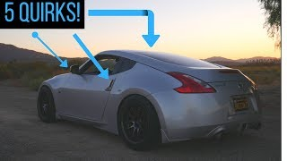 5 Quirks About The Nissan 370z! (Z34)