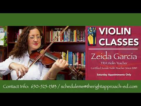 Zeida Garcia, TRA Teacher and Violinist - TRA offering Violin classes (Saturdays Only)