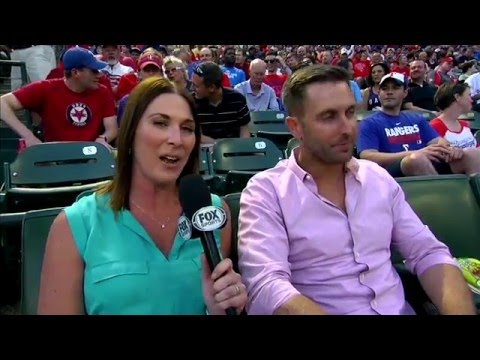 Kliff Kingsbury talks Texas Tech football at Texas Rangers game