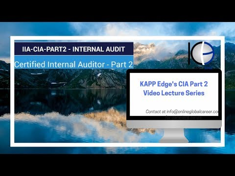 CIA part 2-video lecture series