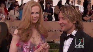 Nicole Kidman and Keith Urban 2016 SAG Awards
