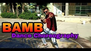 Bamb song: Sukh-E Muzical Doctorz Feat. Badshah | Dance choreography By Krishna