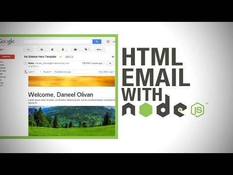 Responsive HTML Email with Node.js - Send Rich, Responsive HTML Emails Using Ink, Yeoman & Express